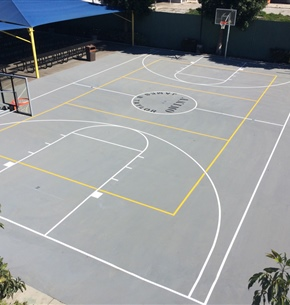 Concrete Basketball Courts