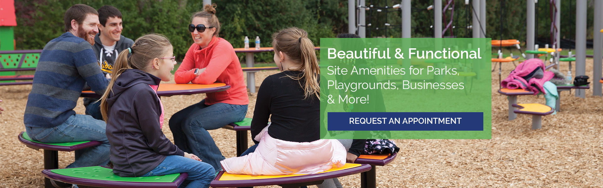 Beautiful & Functional Site Amenities