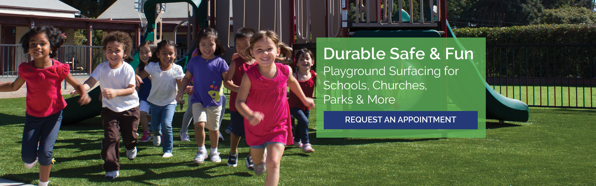 Durable Safe & Fun playground surfacing